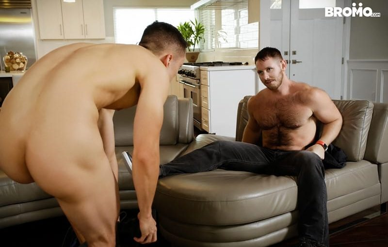 Spencer Whitman fucks younger obedient bottom boy Marcus Tresor's hot ass hole