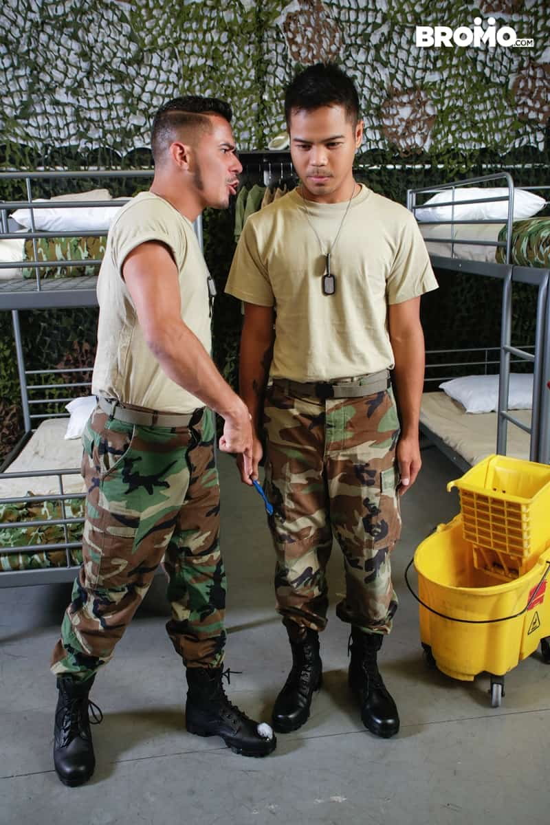Cesar-Xes-hungry-bottom-bitch-John-Rene-huge-cock-fuck-ass-hole-army-barracks-Bromo-012-Gay-Porn-Pics